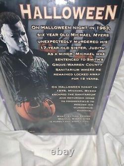 2005 NECA Michael Myers Halloween Light Up Mini Bust AFA 80+ Rare 131/2500