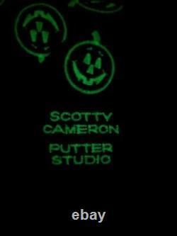 2005 Scotty Cameron Titleist Halloween Jack o Lanterns Pumpkins Headcover RARE