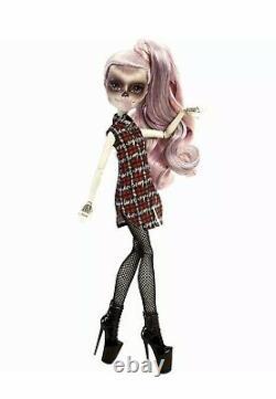 2016 MONSTER HIGH ZOMBY LADY GAGA ZOMBIE DOLL BORN THIS WAY! NIB RARE! Halloween