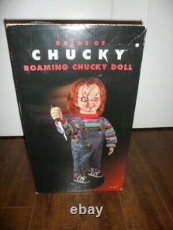 24 Bride Of Chucky Roaming Chucky Doll Spencer's Spirit Halloween New Rare