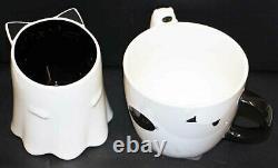 2pc Starbucks japan rare cat cups halloween