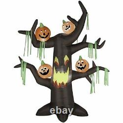 7' Scary Tree with Pumpkins Halloween Airblown Inflatable! BRAND NEW! Rare