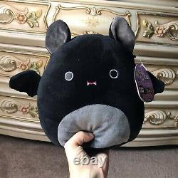 8 RARE Emily The Bat Squishmallow Authentic New With Tags Halloween Collectible