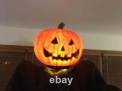 Animated Halloween Pumpkin Prop RARE No Original Box NWT