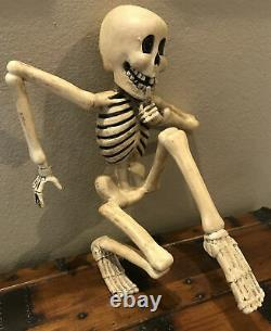 Bethany Lowe Halloween Resin Creeping Skeleton (Light Included)RareRetired