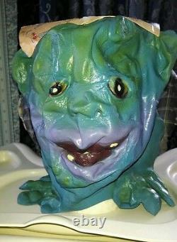 Boglins Halloween Mask! Ultra RARE! 1987! Vintage! With Card! Vlobb