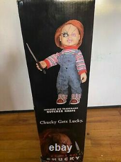 Child's Play Rare Vintage 24 Animated Talking Chucky Figure Doll Gemmy