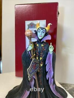 DISNEY Maleficient Candy Curse Candy Corn Halloween JIM SHORE Rare New 6002834