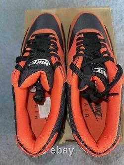 DS New in Box Nike Air Max 90 Team Orange Halloween 333888 800 Size 10 Rare
