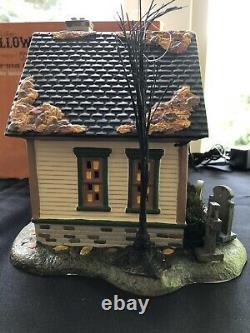Dept 56 Halloween Village, The Spider House, Trick-or-Treat-Lane, RARE NIB