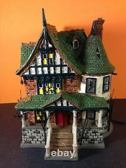 Dept 56 Snow Village Halloween GRAVELY ESTATE 805674 Brand New! RARE