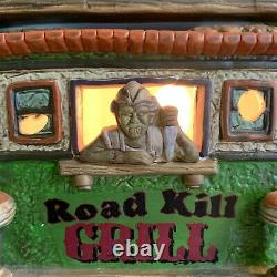 Dept 56 roadkill grill 4044882 Halloween Snow Village SUPER RARE