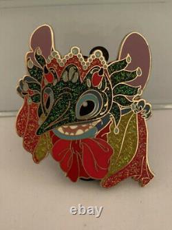 Disney Store Stitch New Orleans Halloween Masquerade Pin LE 100 Rare Mardi Gras