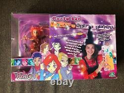 Disney W. I. T. C. H. WITCH Will Vandom Party Set Halloween Doll New VERY RARE
