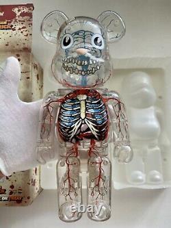 Dr. Romanelli 400% Bearbrick Be@rbrick'DrX Halloween 2008 Medicom Rare Limited