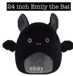 Emily the Bat 24 inch Squishmallow NWT Halloween RARE