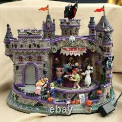 Extremely Rare Lemax Spooky Town Retired 2008 Halloween Party Brand New