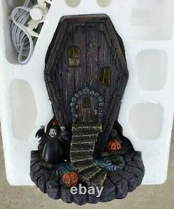 (Extremely Rare) Nightmare Before Christmas Hawthorne Village COFFIN HOUSE