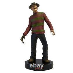 Freddy Krueger Premium Motion Statue 10in Sound Nightmare on Elm Street NEW Rare