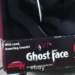 Fun World Scream 4 Ghost Face Light up animated Plaque 2011 PAC BVI RARE HTF