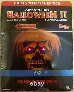 Halloween 2, extreme rare Steelcase with Light- and Soundeffects, 100% uncut