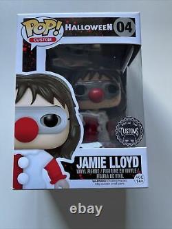 Halloween 4 Michael Myers Jamie Lloyd Funko Pop Bottlecap Customs Rare