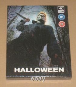 Halloween 4K EverythingBlu UK Exclusive Blu Ray Steelbook Full Slip Sealed Rare
