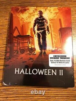 Halloween II 2 Steelbook Blu-ray Limited RARE Set HORROR Michael Myers BRAND NEW