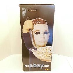 Halloween Michael Myers Greeter Candy Dish Bowl Door Halloween H2O Horror Rare