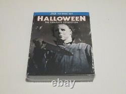 Halloween The Complete Collection Blu-ray 10-Disc Box Set RARE OOP