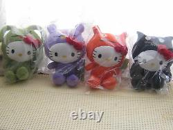 Hello Kitty Halloween UGLY Doll Plush set Stuffed Sanrio Rare Fashion Kawaii F/S