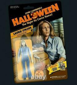 John Carpenter HALLOWEEN Limited Edition LAURIE STRODE Figure Pre-Order RARE