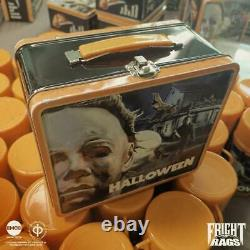 John Carpenter HALLOWEEN Lunchbox FRIGHT RAGS Michael Myers RARE SOLD OUT