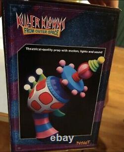 Killer Klowns from outer space Cotton Candy Gun Spirit Halloween New! RARE