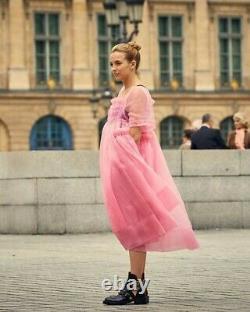 Killing Eve Villanelle pink dress handmade exact replica, very rare! Fits 8-16