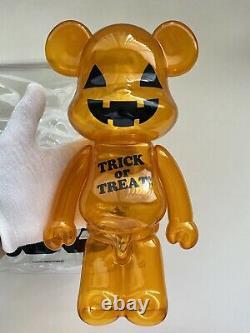Kum@Brick 400% Halloween 2011 Bearbrick Be@rbrick Rare Limited Trick Or Treat