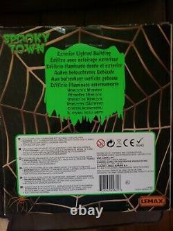 Lemax Halloween Spooky Town Hemlock's Nursery rare