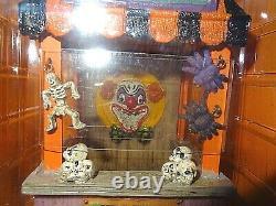 Lemax Rare Fluffy's Halloween Dinner+Carnivorous Plants+Skull Toss+3 More added