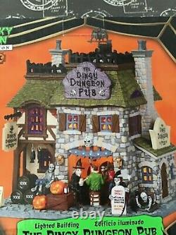 Lemax Spooky Town Dingy Dungeon Pub 05014 Retired Super Rare 2010 Brand New