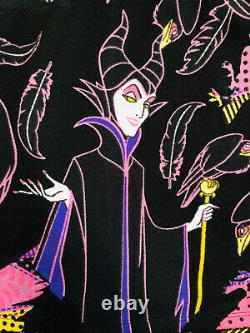 Lularoe Disney Villains Maleficent Amelia NWT 2XL Snow White purple crow Rare