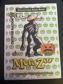 Metazoo Sealed 1st ed Halloween 2020 promo pack BLACK BOARDER VERY RARE
