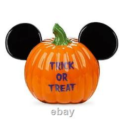 Mickey Mouse Halloween PUMPKIN Bowl NEW RARE SOLD OUT FAST SHIP