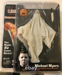 NECA Cult Classics Hall of Fame (Ghost Bob Sheet) Michael Myers Halloween Rare