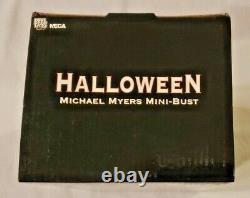 NECA HALLOWEEN MICHAEL MYERS Light Up Mini Bust 719/2500 MIB 2005 BRAND NEW RARE