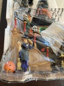 NEW RARE Lemax Spooky Town Halloween Village Witchs Hat #84744