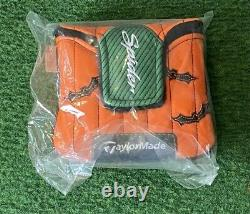 NEW RARE Taylormade Vault Spider X Trick or Treat Halloween Putter Headcover