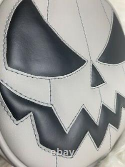 NEW love pain and stitches purse 2014 super rare pumpkin kult grey gray bag