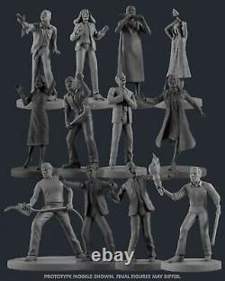 NIGHT OF THE LIVING DEAD Figures George Romero NANOFORCE Zombie Pre-Order RARE