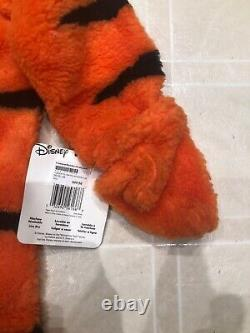 NWT Halloween Costume Disney Tiger Suit Child Youth 4-6 Rare Furry