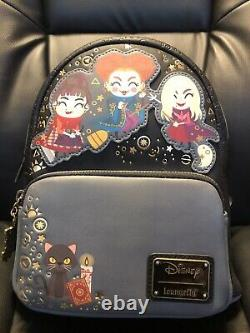 NWT RARE Loungefly Disney Hocus Pocus Chibi Mini Backpack And Wallet Halloween